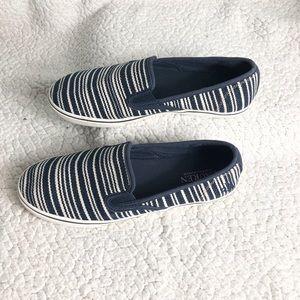 Ralph Lauren Janis slip on sneakers size 9 navy